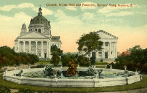11 Church, Music Hall, and Fountain, Sailors' Snug Harbor, S.I.