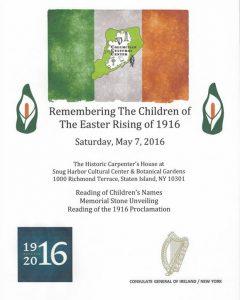 Easter Rising SHCC 5 7 16