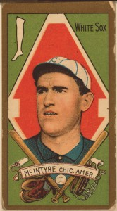 Matty McIntyre BB Card LOC 1911