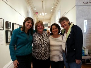 Author & Historian Patricia Salmon with some of her wonderful social media followers.