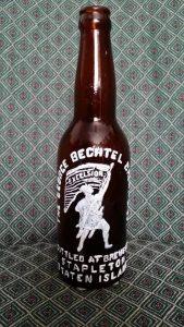 Bechtel Bottle picture from Frank DeRiso 2016