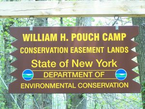 DEC Pouch Camp Sign 2015 P Salmon