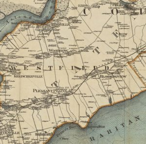 Detail Coltons Map of SI 1889 Ross to PB nypl